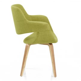 Lloyd Dining Chair Oak & Green