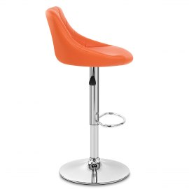 Stitch Bar Stool Orange