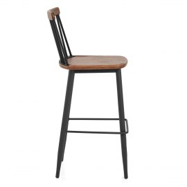 Nash Industrial Bar Stool