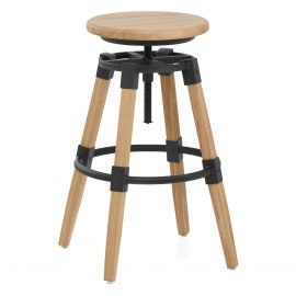 Logan Wooden Bar Stool