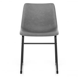 Bucket Chair Antique Grey