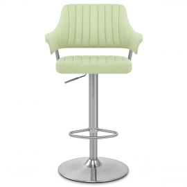 Skyline Brushed Bar Stool Green