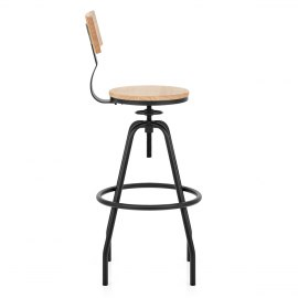Creed Industrial Bar Stool