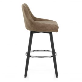 Hamilton Bar Stool Antique Brown