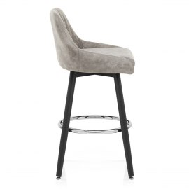 Hamilton Bar Stool Antique Grey