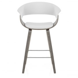 Alexis Wooden Stool White