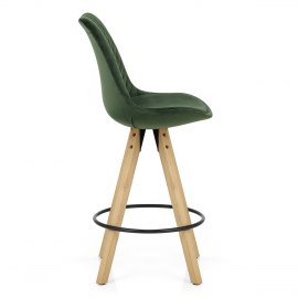 Prism Bar Stool Green Velvet