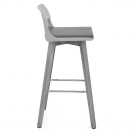 Alaska Bar Stool Grey