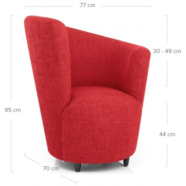 Spiral Chair Red