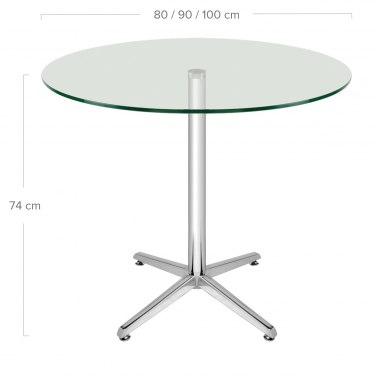 Modena Glass Table