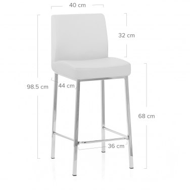 Pacino Stool White