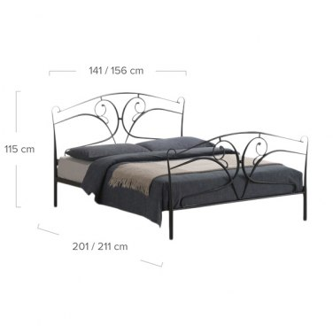 Seline Bed Dimensions