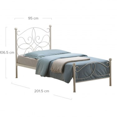 Melissa Single Bed Dimensions