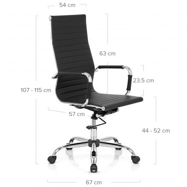 Metro Office Chair Black