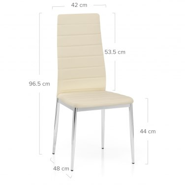 Francesca Dining Chair Cream