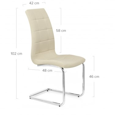 York Dining Chair Cream