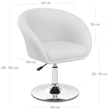 Seville Chair White
