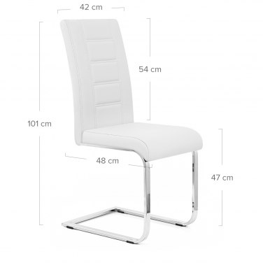 Anima Dining Chair White