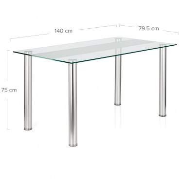 Dimensions Barker Dining Table