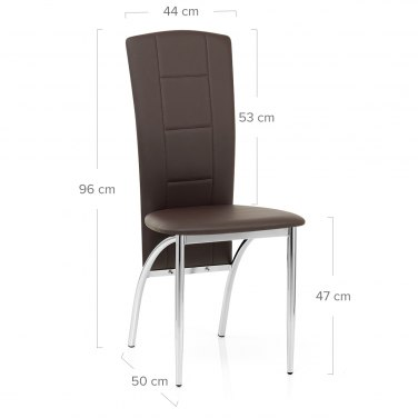 Isabella Dining Chair Brown