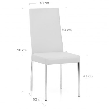 Julietta Dining Chair White