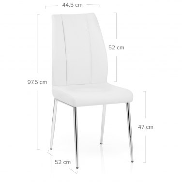 Maxwell Dining Chair White