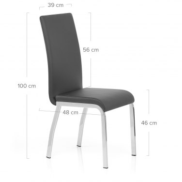 Essence Dining Chair Grey