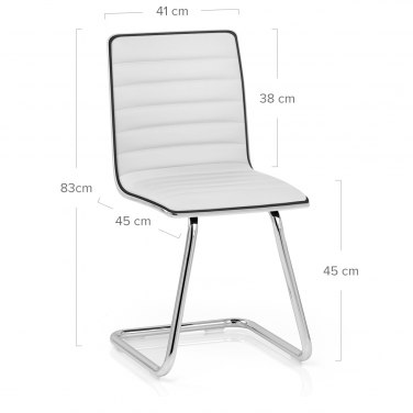 Vesta Dining Chair White