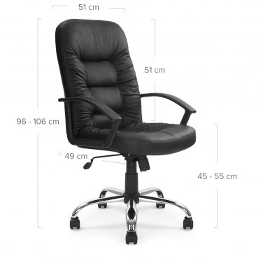 Munster Office Chair Dimensions