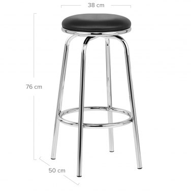 Chrome Stool