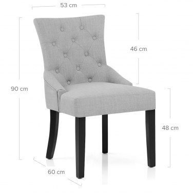 Verdi Chair Light Grey