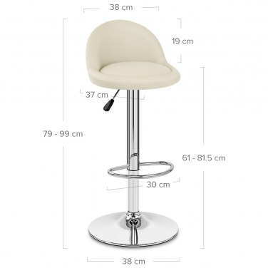 Glee Bar Stool Cream