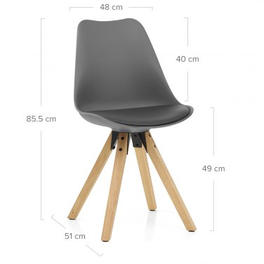 Aero Dining Chair Grey