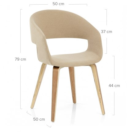 Marcus Dining Chair Beige
