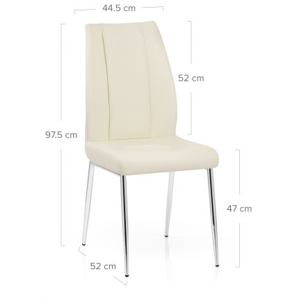 Maxwell Dining Chair Cream