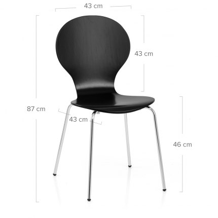 Candy Chair Black