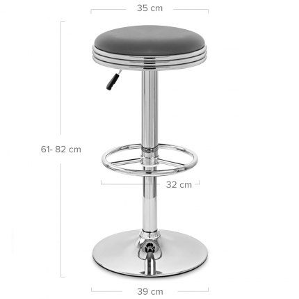 Java Bar Stool Grey