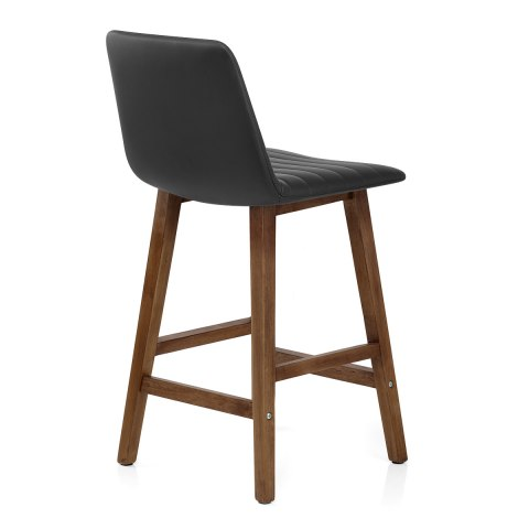 Spritz Wooden Stool Black