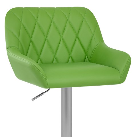 Detroit Brushed Stool Green