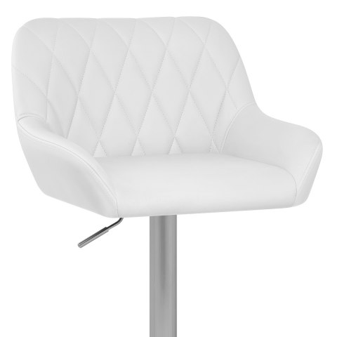 Detroit Brushed Stool White