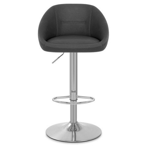 Decco Brushed Bar Stool Charcoal