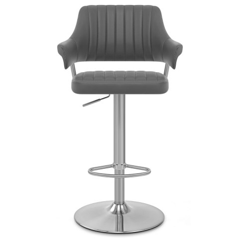 Skyline Brushed Bar Stool Charcoal