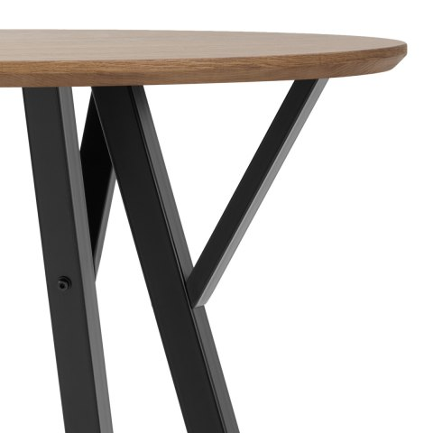 Quest 80cm Dining Table Oak