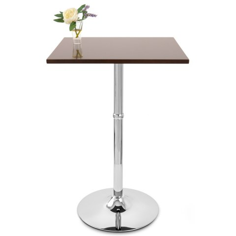 Sovereign Square Bar Table Walnut