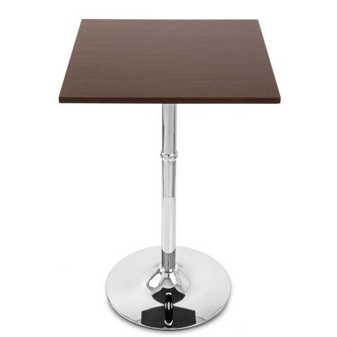 Sovereign Square Bar Table Walnut Atlantic Shopping