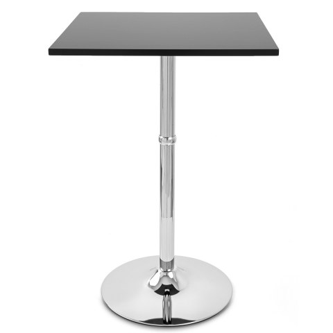 Sovereign Square Bar Table Black