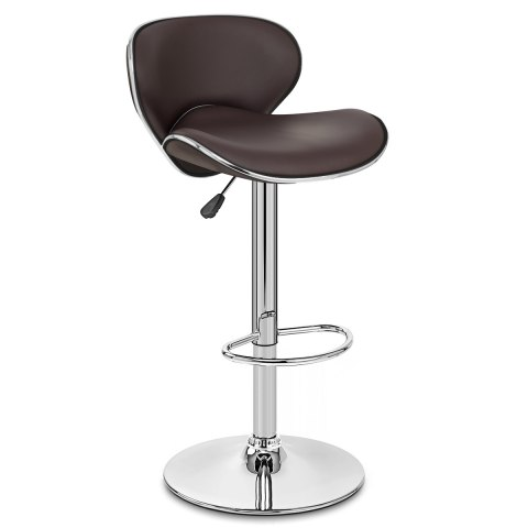 Duo Bar Stool Brown
