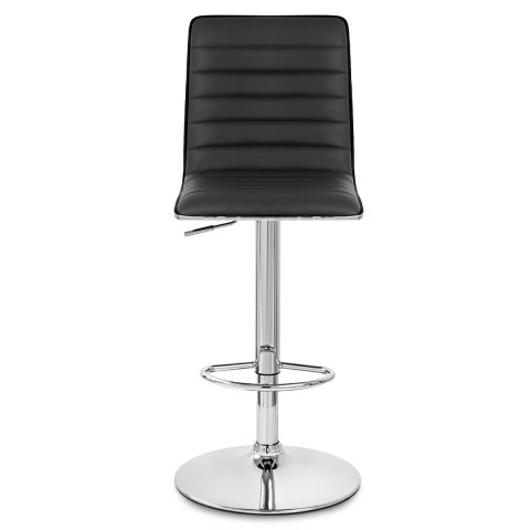 Hiline Bar Stool Black