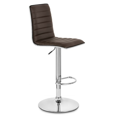 Hiline Bar Stool Brown