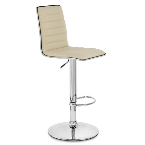 Hiline Bar Stool Cream